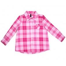 Рубашка с длинным рукавом в клетку BENETTON 3644