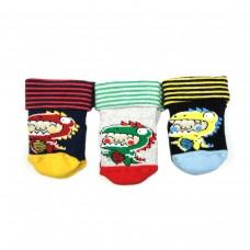 Шкарпетки BROSS 13717 (котт,махр) 0-6мес