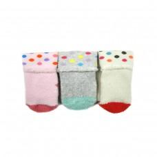 Шкарпетки BROSS 13752 (котт,махр) 0-6мес