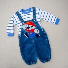 Напівкомбінезон Baby Bee 92 з малюнком Mario