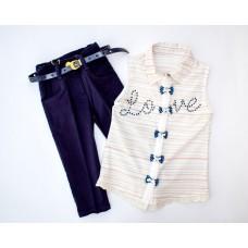 Рубашка без рукавов и штаны Beby bee Ecco girls 1814