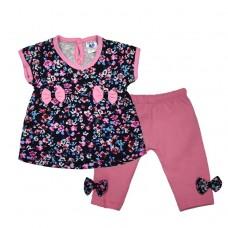 Комплект 7072 футболка и штаны розовый