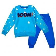 Спортивный костюм BOOM 8139 синий