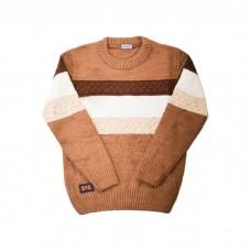 Детский свитер H&R 7030 бежевый в полоску