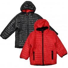 Куртка двухстороня 2007 червоно-чорна