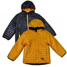 Куртка двухстороня 2007 синьо-жовта