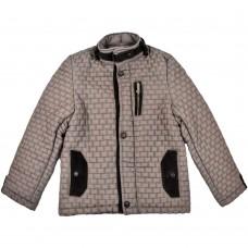 Куртка демисезонная Fornello 2211 темно бежевая