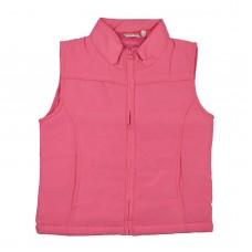 Жилет теплий 3564 рожевий