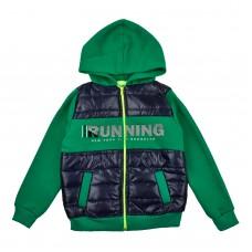 Куртка 8014 зелена