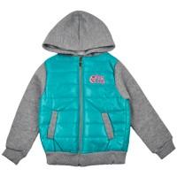 Куртка 8022 бірюзова