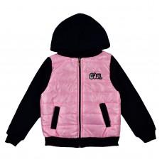 Куртка 8022 рожева