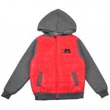 Куртка 8022 яскраво рожева