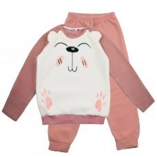 Пижама флисовая 9121-4 мишка