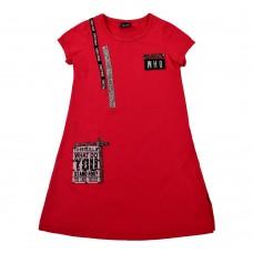 Сукня 18302 червона