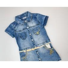 Платье джинсовое SANI 8206