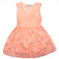 Платье Z-RA Kids персиковое