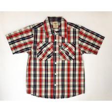 Рубашка з коротким рукавом в клітинку AMERICAN HAWK 1562