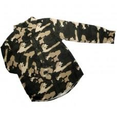 Рубашка с длинным рукавом FADED GLORY 1652 милитари