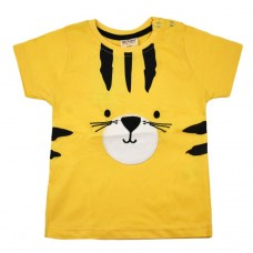 Футболка жовта 9075 з котом