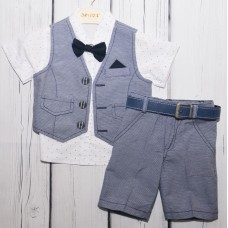 Шорти, сорочка, желетка Baby bee Oryeda 1104