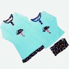 Комплект (нічна сорочка, піжама) MATILDA 7236-3 трикотаж