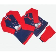 Комплект (нічна сорочка, піжама) MATILDA 7334-3 трикотаж