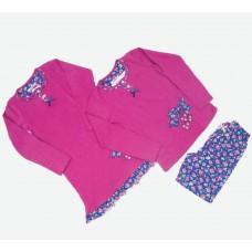 Комплект (нічна сорочка, піжама) MATILDA 7356-3 трикотаж