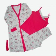 Комплект (майка,штани,халат) MATILDA 7463