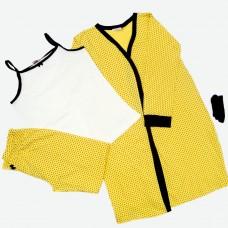 Комплект (майка, штани, халат) MATILDA 7466-3 трикотаж
