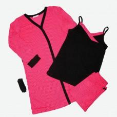 Комплект (майка, штаны, халат) MATILDA 7468-4 трикотаж