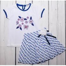 Костюм футболка юбка benini BNK 0038