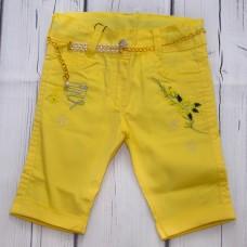 Капрі WIGGLE 307 жовті з ременем