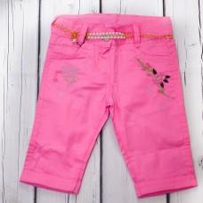 Капрі WIGGLE 307 рожеві з ременем