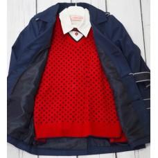 Комплект Fornello (свитер, рубашка, брюки) 2113 синий