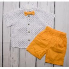 Костюм (рубашка и шорты) Вaby bee Choco Kids 503